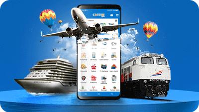 Bisnis Tiket Pesawat dan Kereta Api