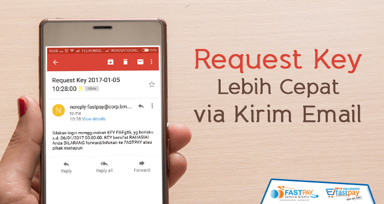 request key email fastpay