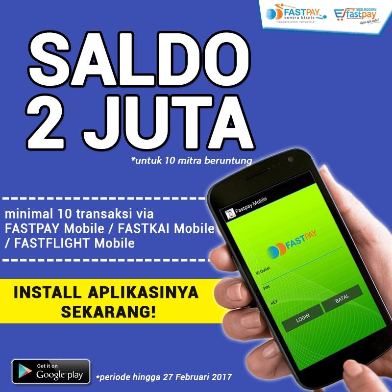 Install app mobile dan transaksi berhadiah senilai total Rp2 jt