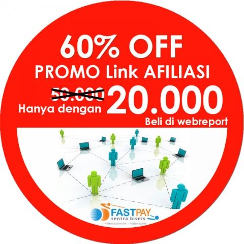 Promo Link Afiliasi murah hanya Rp20.000 berlaku untuk 1 bulan