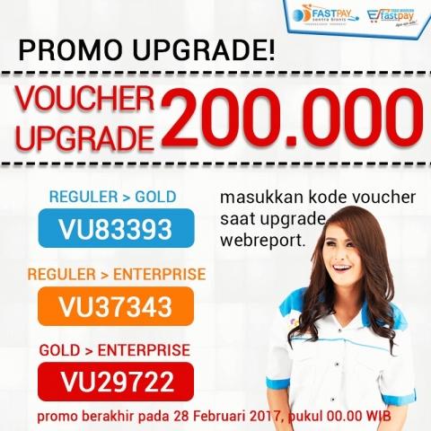 Upgrade paket outlet Anda sekarang, ada VOUCHER Rp200.000 untuk Anda