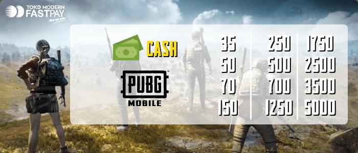 cash pubg murah