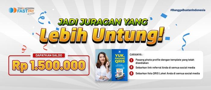Jadi Juragan Yang Lebih Untung! Total Hadiah Rp.1.500.000!