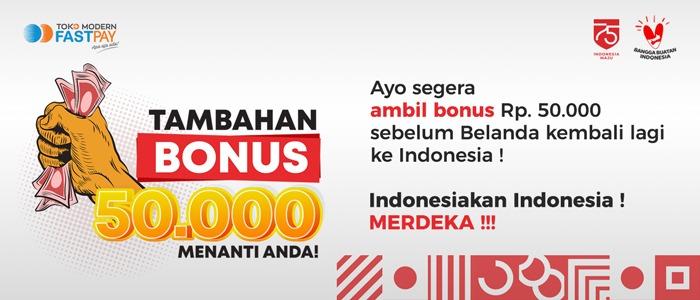 Tambahan Bonus 50.000 Telah Menanti Anda!