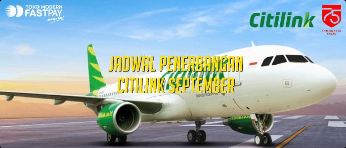 jadwal citilink september