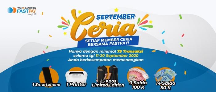 September Lebih Ceria Bersama Fastpay!