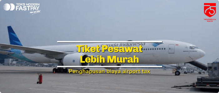 Sekarang Beli Tiket Pesawat Lebih Murah, Airport Tax Dihapus
