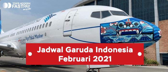 jadwal garuda indonesia februari