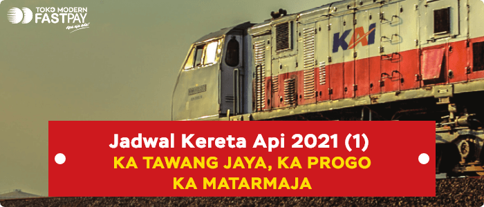 jadwal kereta 2021