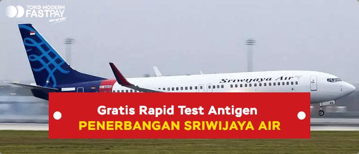 free rapid test antigen sriwijaya air