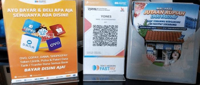 fastpay bisa menerima pembayaran menggunakan qris