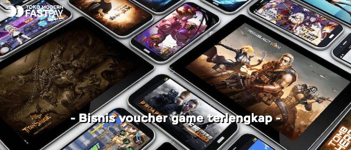 bisnis penjualan voucher game terlengkap