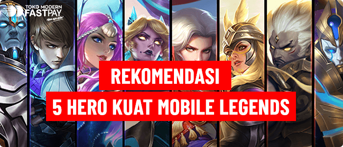 rekomendasi hero mobile legends push rank