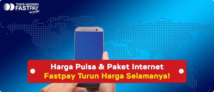 Bisnis Pulsa Makin Untung, Harga Pulsa dan Data Internet di Fastpay Turun Harga Selamanya!