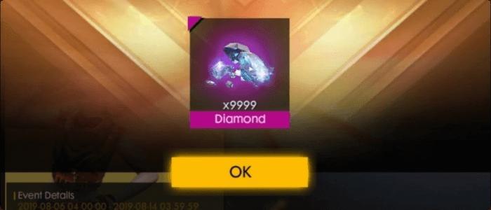 Top up diamond FF