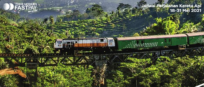 Jadwal Perjalanan Kereta Api 18-31 Mei 2021