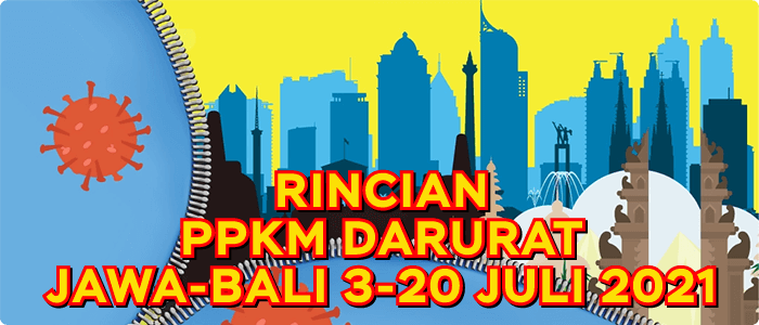 Rincian Lengkap PPKM Darurat Resmi 3-20 Juli, Loket Fastpay Bebas Beroperasi