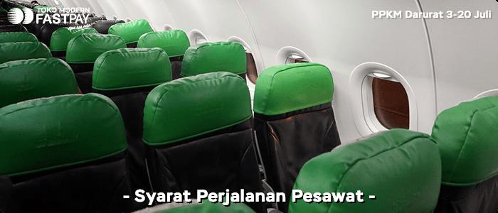 Syarat naik pesawat PPKM Darurat