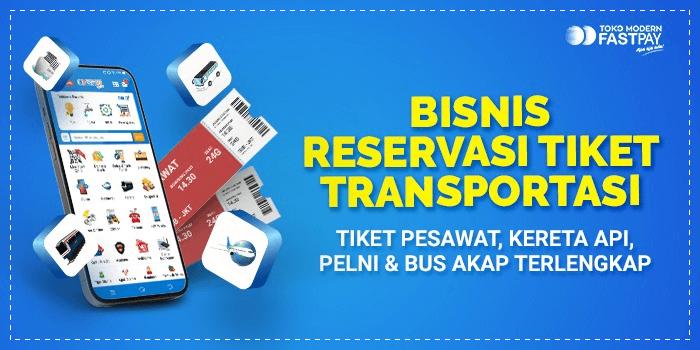 Bisnis tiket menguntungkan, pesawat terbang, kereta api, bus AKAP, kapal PELNI
