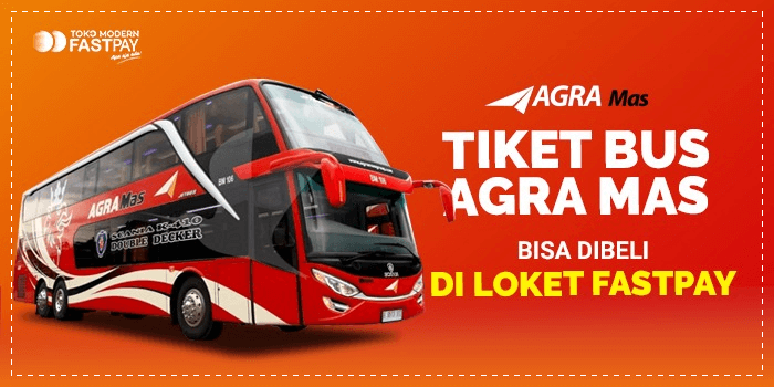 Tiket bus Agra Mas di Loket Fastpay