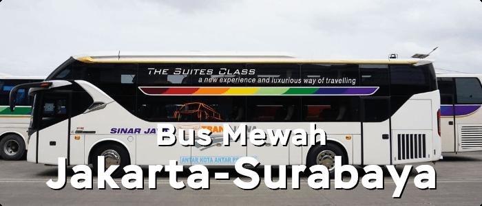 5 Bus AKAP Mewah dari Jakarta ke Surabaya