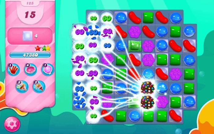 Gameplay Candy Crush Saga