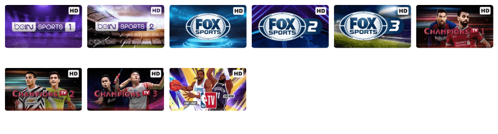 Channel TV Olahraga Vidio