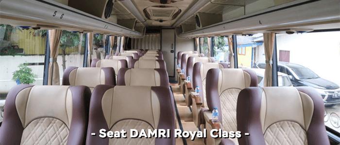Konfigurasi DAMRI Royal Class