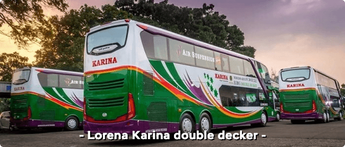 Lorena Karina double decker