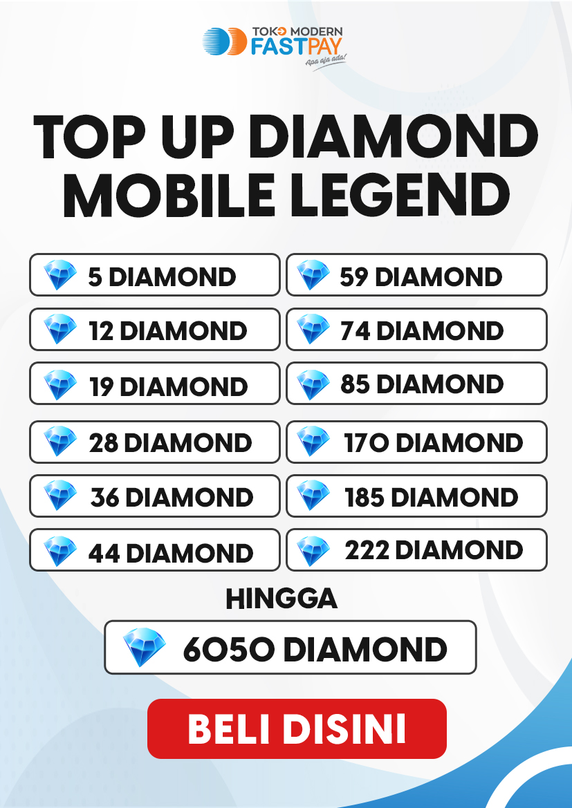 Alat promo top up diamond Mobile Legends