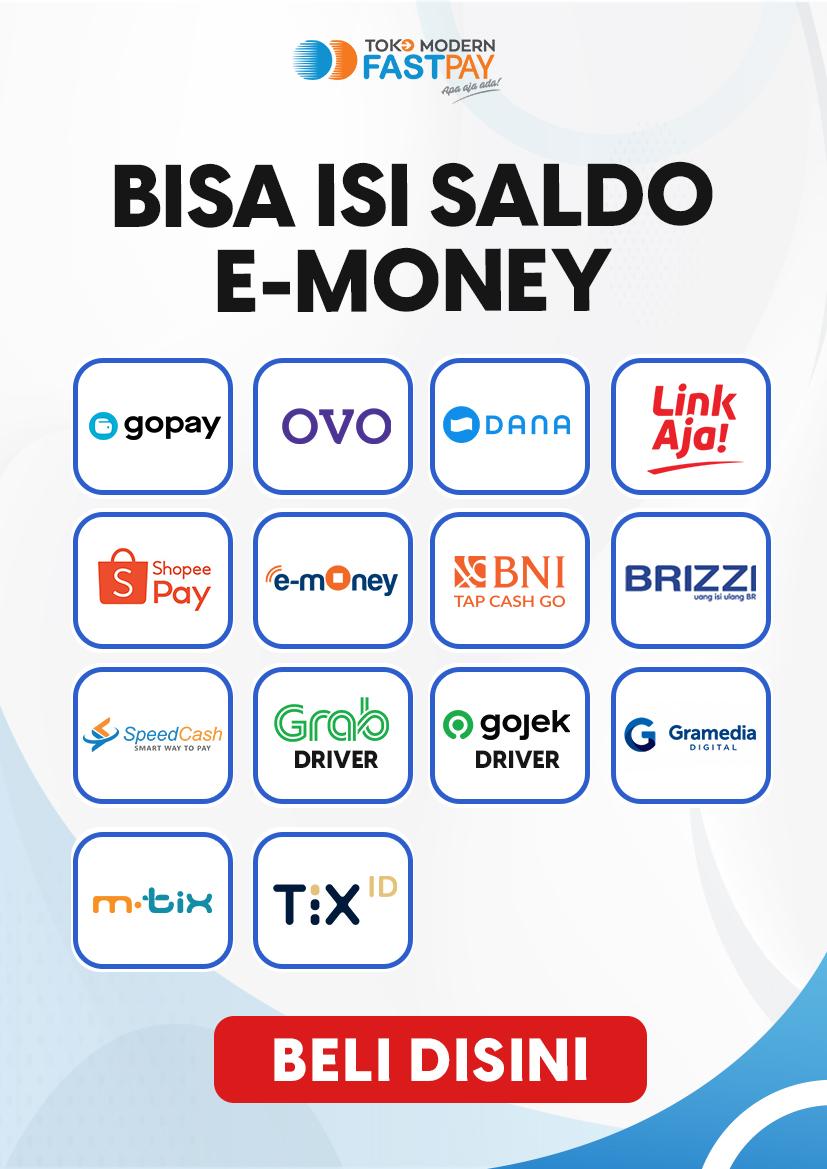 Alat promo top up e-money