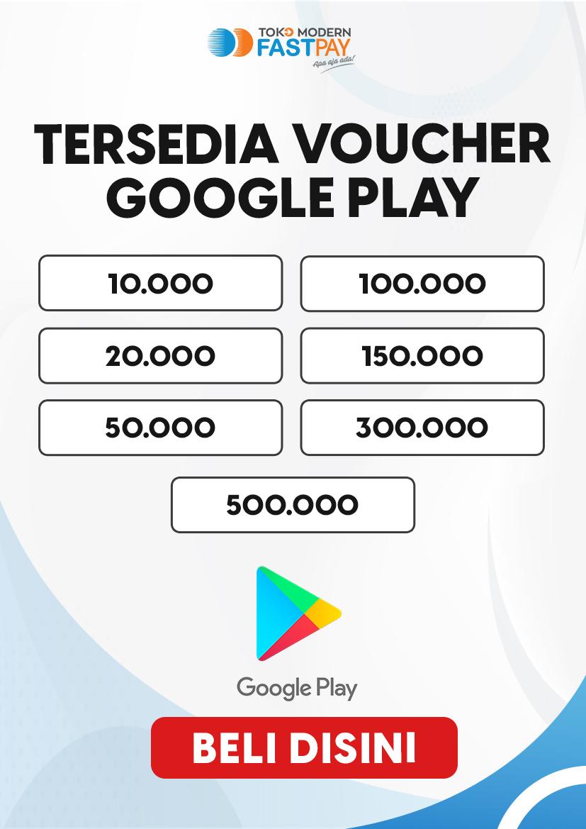 Alat promo voucher Google Play