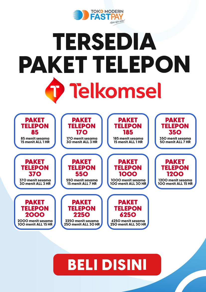 Alat promo paket telepon Telkomsel