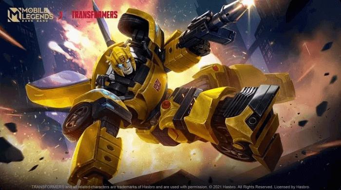 Skin Bumblebee MLBB X Transformers