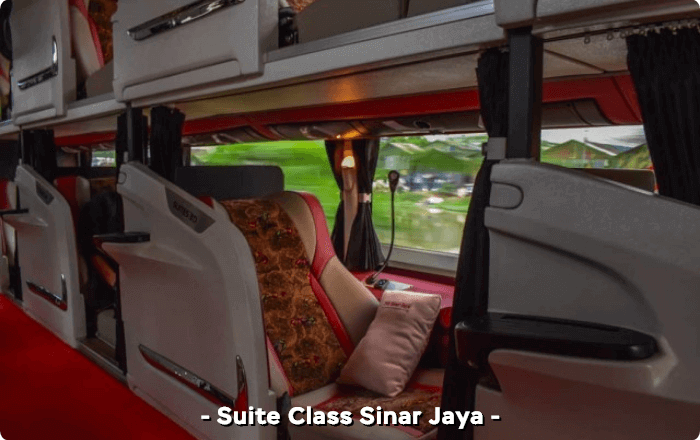 Kursi suite class Sinar Jaya