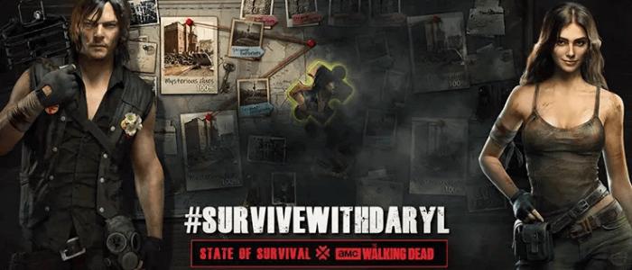 Game State Of Survival dengan karakter Walking Dead