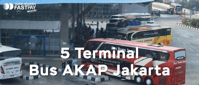 5 Terminal Bus AKAP di Jakarta
