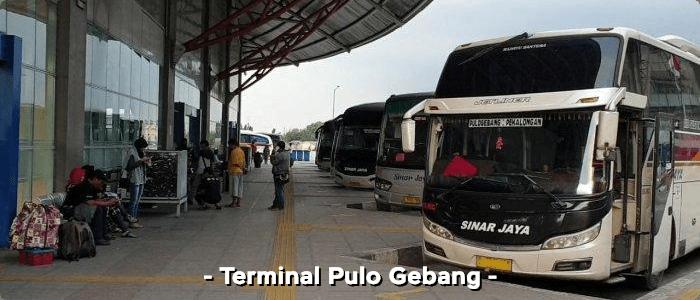 Terminal bus AKAP Pulo Gebang terbesar se Asia Tenggara