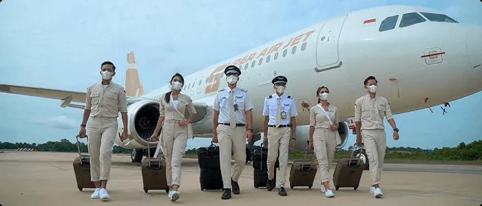 Super Air Jet Maskapai Baru, Tiket Bisa Dibeli di Loket Fastpay