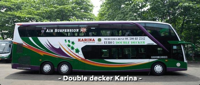 Bus AKAP double decker Karina