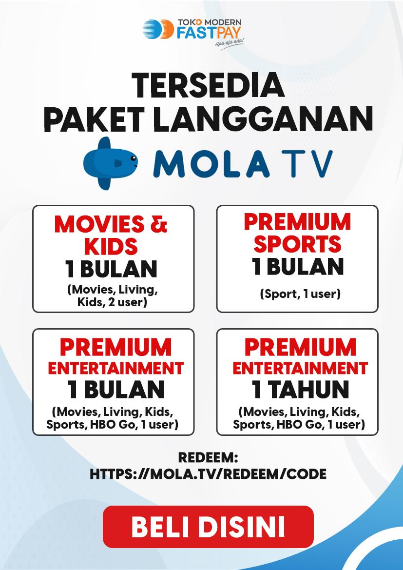 Alat promosi Mola TV
