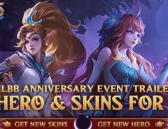 Ultah Mobile Legends gratis skin