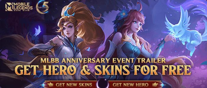 Catat! Ulang Tahun Mobile Legends, Bagi-bagi Skin Elite Gratis