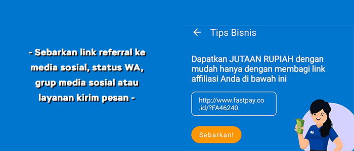 Link referral Fastpay
